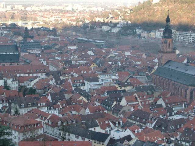 ドイツハイデルベルクの景色