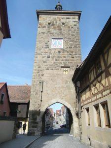 ドイツローテンブルクブルグ城門