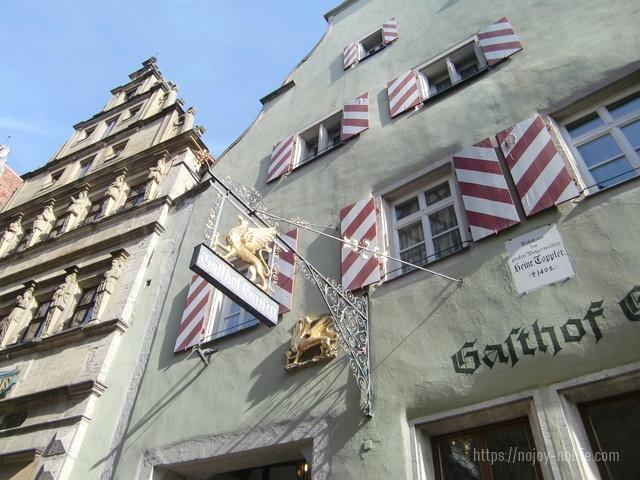 ドイツローテンブルク街並み