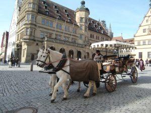 ドイツローテンブルク市庁舎