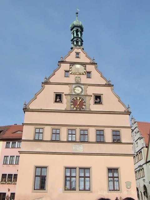 ドイツローテンブルク市議宴会場仕掛け時計
