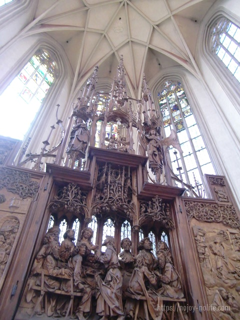 ドイツハイデルベルク聖ヤコブ教会聖血の祭壇