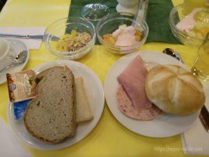 ドイツフッセンユーロパークホテル朝食