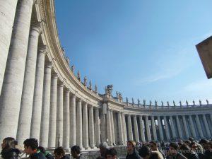 ローマバチカン市国柱廊