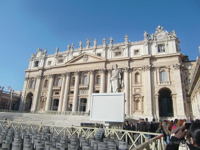 ローマバチカン市国サンピエトロ大聖堂