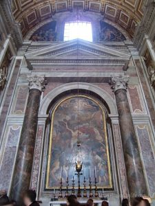 ローマバチカン市国サンピエトロ大聖堂聖セバスティアーノの礼拝堂