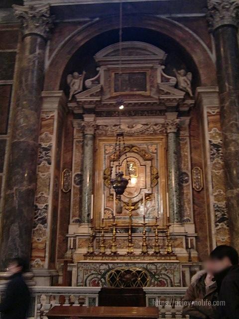 ローマバチカン市国サンピエトロ大聖堂聖グレゴリウスの聖堂