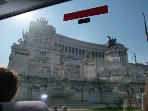 ローマヴェネツィア広場ヴィットーリオ・エマヌエーレ2世記念堂