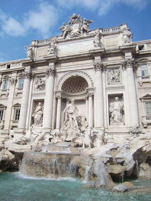 ローマトレビの泉